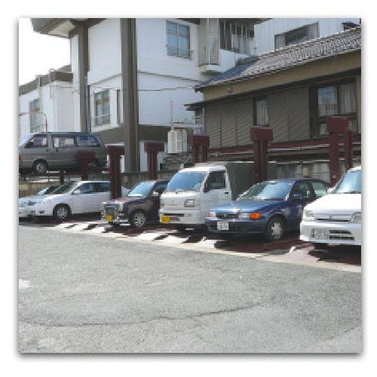 大型車・特殊車両でも駐車可!のイメージ